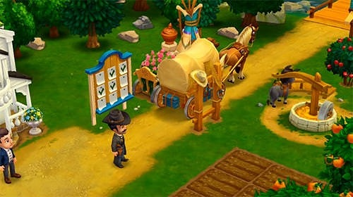 Wild West: New Frontier Android Mobile Phone Game Image 1