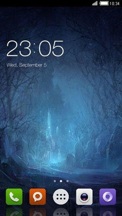 Mystical CLauncher Android Mobile Phone Theme Image 1
