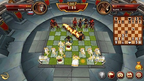 Warfare Chess 2 Multiplayer Android Game Image 1
