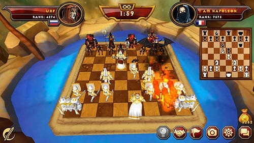 Warfare Chess 2 Multiplayer Android Game Image 2