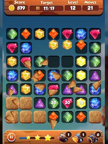 Puzzle King Matchs: King's Jewerly Android Game Image 1