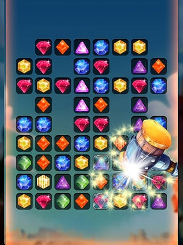 Puzzle King Matchs: King's Jewerly Android Game Image 2