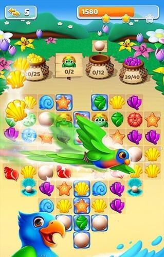 Bird Blast: Match 3 Island Adventure Android Game Image 1