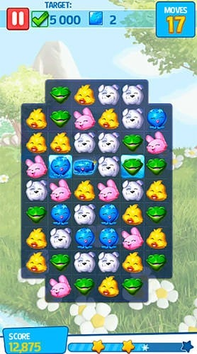 Puzzle Pets: Popping Fun! Android Mobile Phone Game Image 1 ...