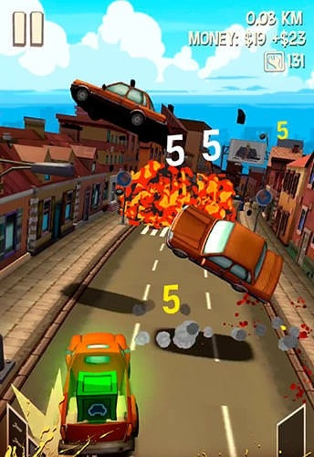 Freak Truck: Crazy Car Racing Android Game Image 2