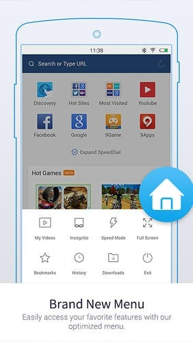 UC Browser: Mini Android Application Image 1