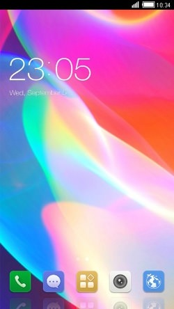Abstract CLauncher Android Mobile Phone Theme Image 1