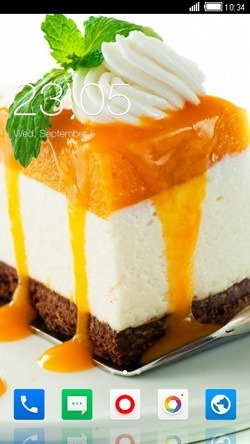 Cake CLauncher Android Mobile Phone Theme Image 1