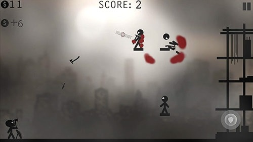 Knife Attacks: Stickman Battle Android Game Image 1