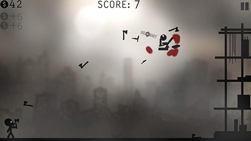 Knife Attacks: Stickman Battle Android Game Image 2