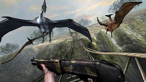 Dino VR Shooter: Dinosaur Hunter Jurassic Island Android Game Image 2