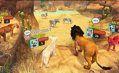 Lion Family Sim Online Android Game Image 1