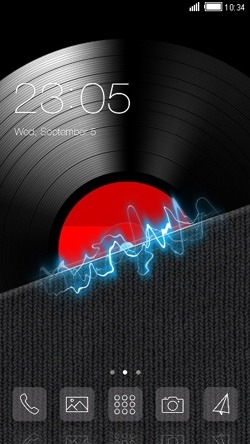 Music CLauncher Android Theme Image 1