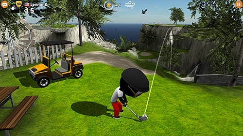 Stickman Cross Golf Battle Android Game Image 1