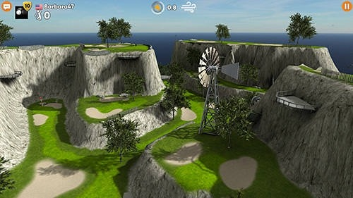 Stickman Cross Golf Battle Android Game Image 2