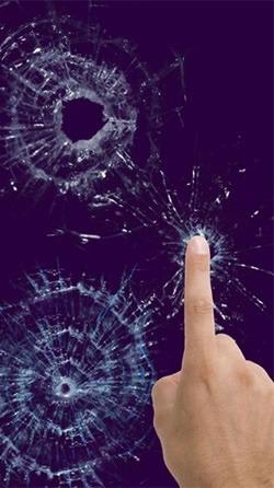 Broken Glass Android Wallpaper Image 1