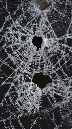 Broken Glass Android Wallpaper Image 2