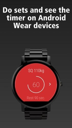StrongLifts 5x5: Workout Gym Log & Personal Trainer Android Application Image 2