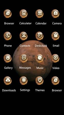 Mars CLauncher Android Mobile Phone Theme Image 2