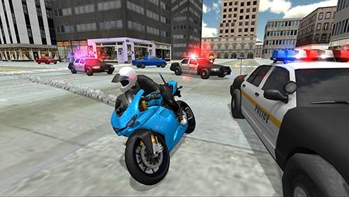 Stunt Bike Racing Simulator Android Mobile Phone Game Image 1