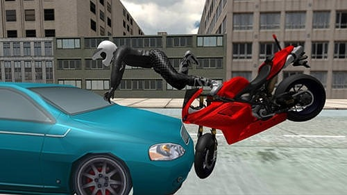 Stunt Bike Racing Simulator Android Mobile Phone Game Image 2