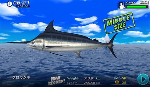 Excite Big Fishing 3 Android Mobile Phone Game Image 1