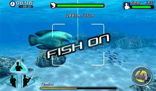 Excite Big Fishing 3 Android Mobile Phone Game Image 2