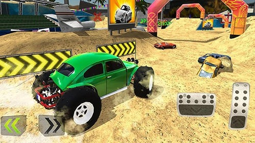 Monster Truck XT Airport Derby Android Mobile Phone Game Image 2