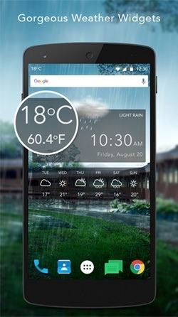 Live Weather Android Wallpaper Image 1
