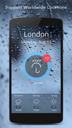 Live Weather Android Wallpaper Image 2