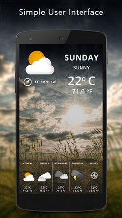 Live Weather Android Wallpaper Image 3