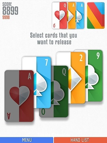 Politaire: Poker Solitaire Android Game Image 2