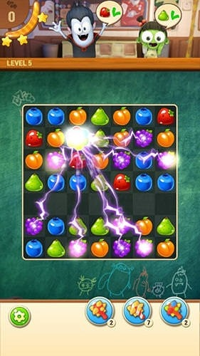 Spookiz Pop: Match 3 Puzzle Android Game Image 1