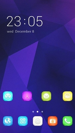 Vector Art CLauncher Android Mobile Phone Theme Image 1