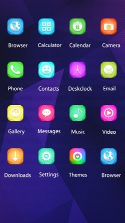 Vector Art CLauncher Android Mobile Phone Theme Image 2