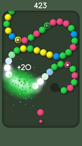Snake Balls Android Game Image 2