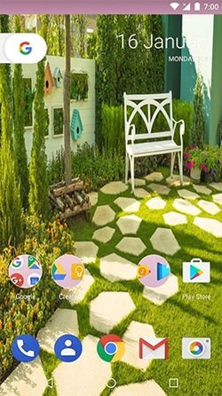 Garden HD Android Wallpaper Image 2
