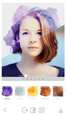 PORTRA Stunning Art Filter Android Application Image 1