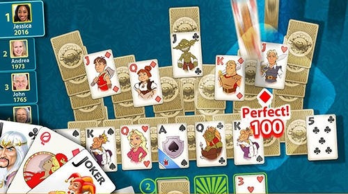 Solitaire: Perfect Match Android Game Image 2
