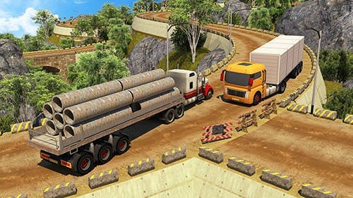 Offroad 18 Wheeler Truck Driving Android Game Image 1