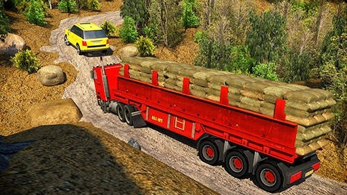 Offroad 18 Wheeler Truck Driving Android Game Image 2