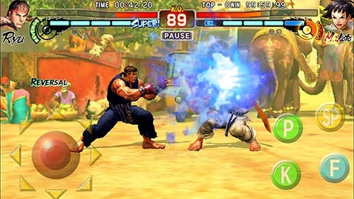 Street Fighter 4 HD Android Game Image 2