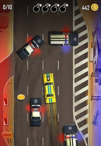 Hit N' Run Android Mobile Phone Game Image 2