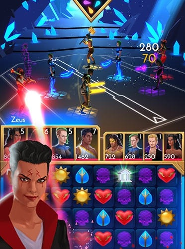 Neolympia Heroes Online Android Mobile Phone Game Image 2