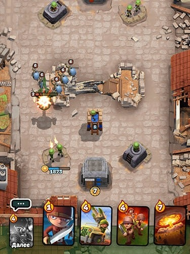War Heroes: Clash In A Free Strategy Card Game Android Mobile Phone Game Image 1