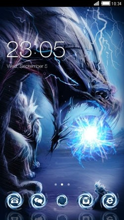 Dragon CLauncher Android Theme Image 1