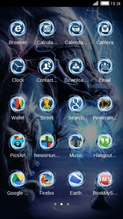 Dragon CLauncher Android Theme Image 2