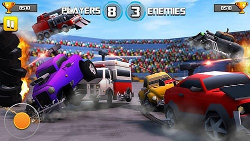 Battle Of Cars: Fort Royale Android Game Image 1