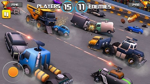 Battle Of Cars: Fort Royale Android Game Image 2