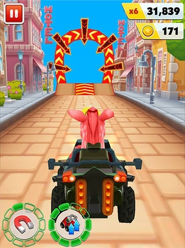 Pony Craft Unicorn Car Racing: Pony Care Girls Android Mobile Phone Game Image 1